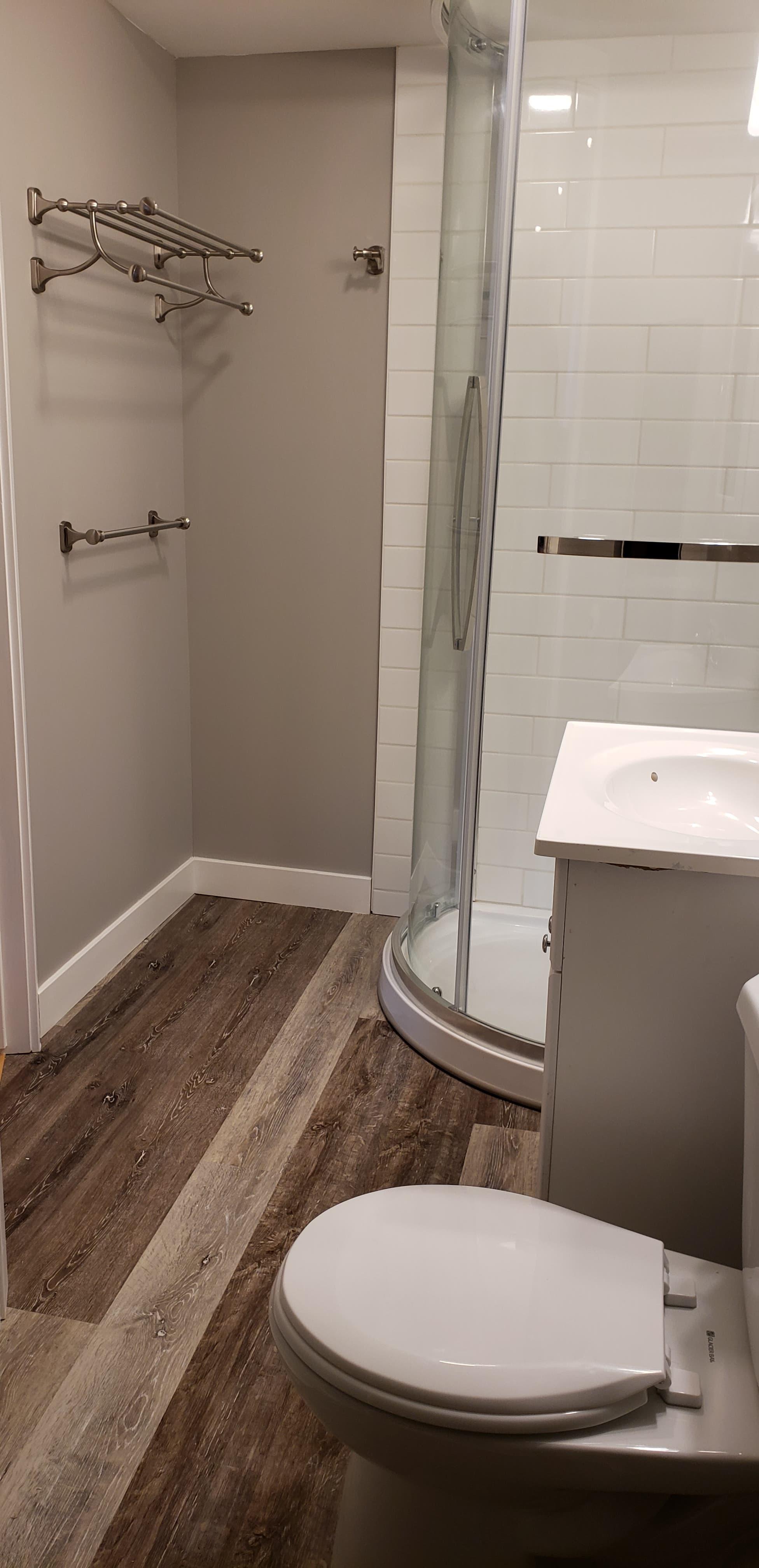 bathroom shower and toilet red deer alberta